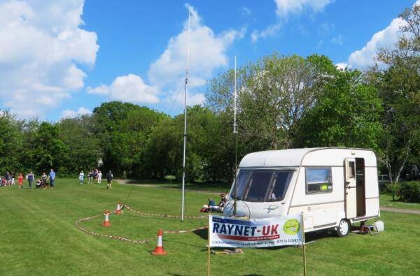 Caravan as Control at Lymington 10k