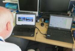 M27 monitoring camera feeds