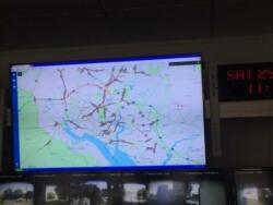 M27 closure image from Southampton Tactical Centre 'Delta G