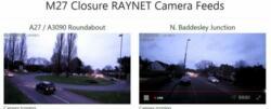 M27 closure camera feeds